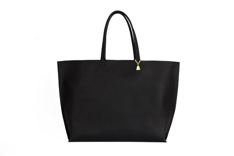 Black,Primrose,Tote,Cork Leather, Vegan, Tote, Black