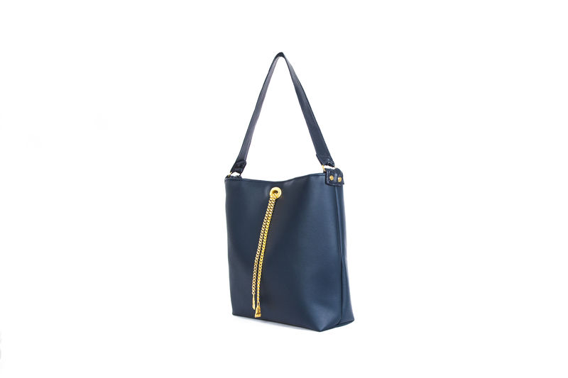Drayton Navy Chain Tote - product images  of