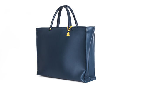 Drayton,Navy,Drop,Tote,Vegan, Tote, Wilby, handbag, ethical, everydaywear