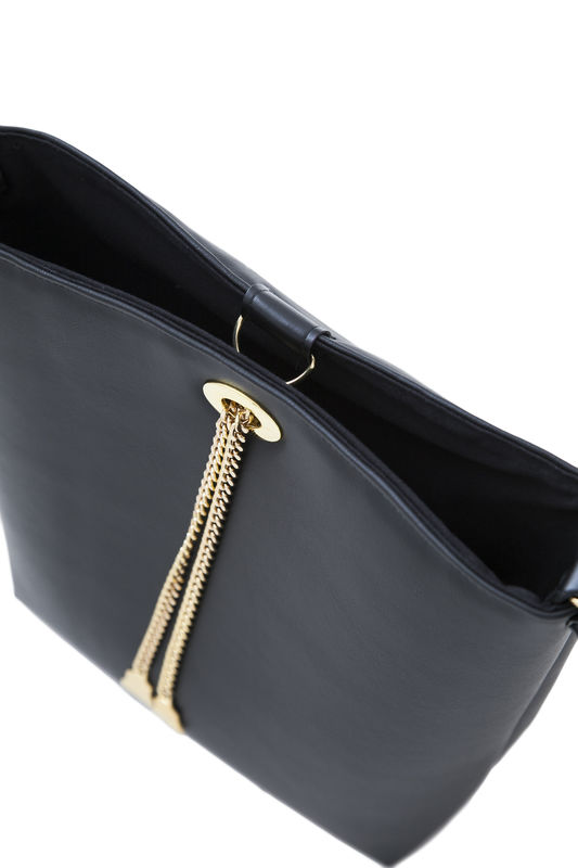 Drayton Black Chain Tote - product images  of