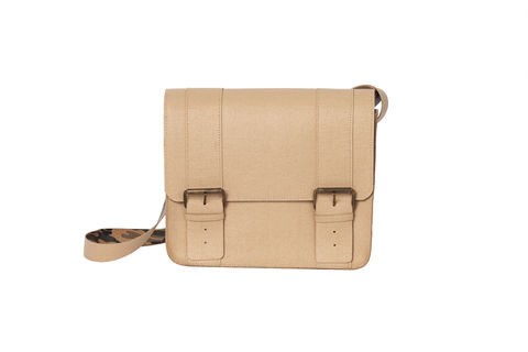 Beige,Unisex,Satchel,vegan, sustainable, cork, saddle bag, fashion