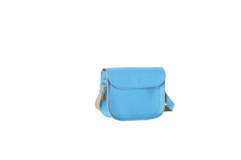 Blue,Mini,Tip,Satchel,vegan, sustainable, cork, satchel, fashion