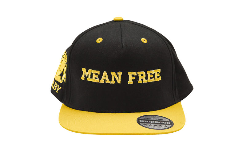 Yellow Mean Free Urban Cap (Unisex)