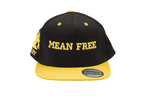 Yellow,Mean,Free,Urban,Cap,(Unisex),Headwear, vegan, caps, mean free