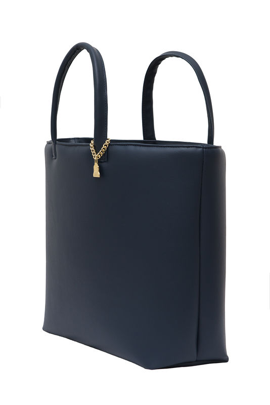 NEW! Drayton Navy Open Tote - product images  of