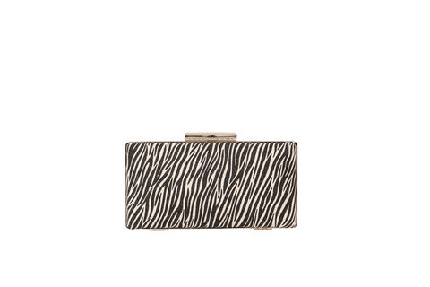 Zebra,Print,Clutch,Mosaic, Clutch, Vegan, sustainable, prints, UK Made,