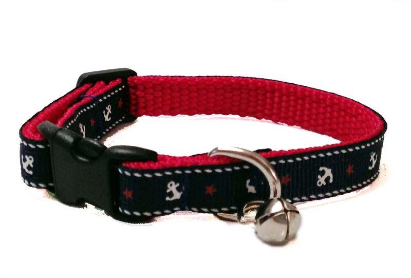 Black Bad To The Bone Dog Collar