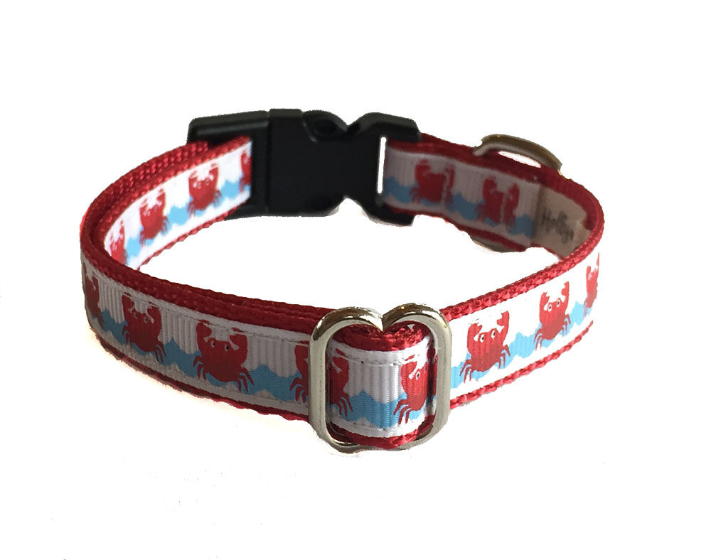 Crabby Dog Collar