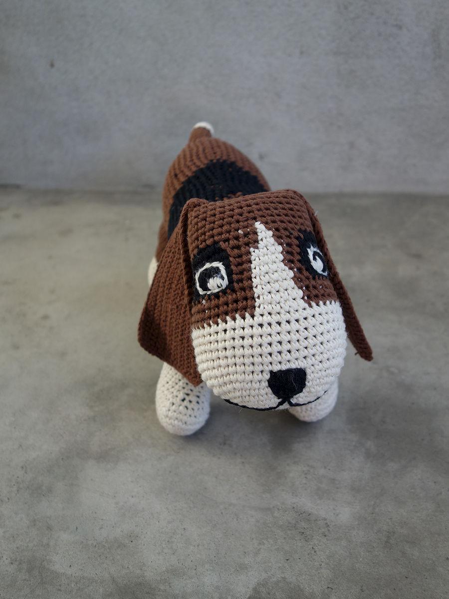 Crochet fine basset quite nice - Petit basset hound angers ...