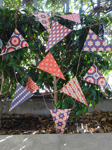 DIY,Bunting,set,Bindewerk, craft, decoration, paper, bunting, flags, decorations, xmas, Christmas, Jackie, Alma, Marlies, Suzette