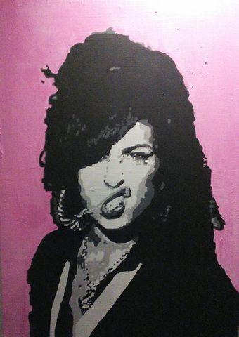 Amy,Winehouse,pop art, icon, amy winehouse, painting, original, signed, artwork, iconic.