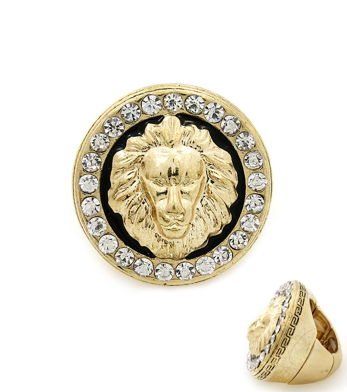 versace inspired gold ring craze jewelry