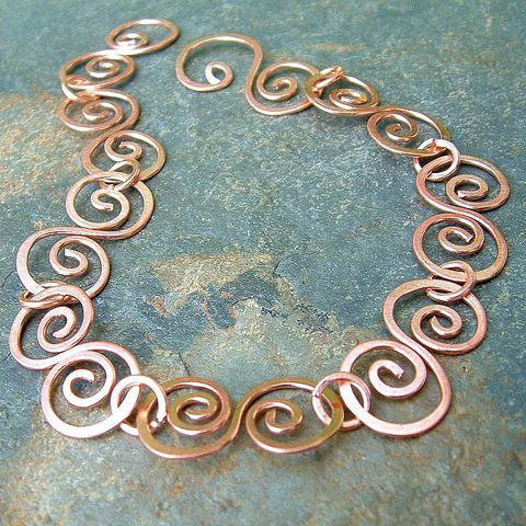 Copper,Bracelet,Hammered,Swirls,,Jewelry, bracelet, copper bracelet, copper jewelry, handmade bracelet, natural copper jewelry, swirl bracelet, kdavis studios