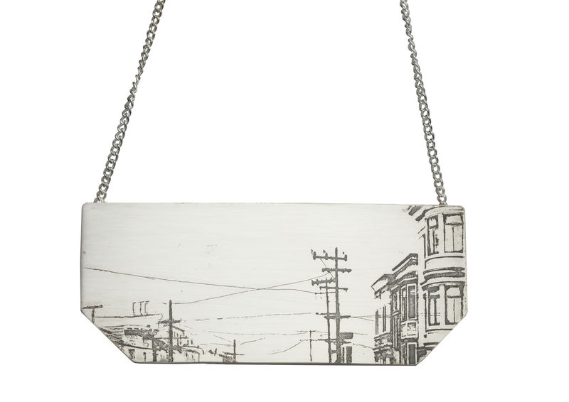 necklace- cityscape 3- city skylines  - product images  of