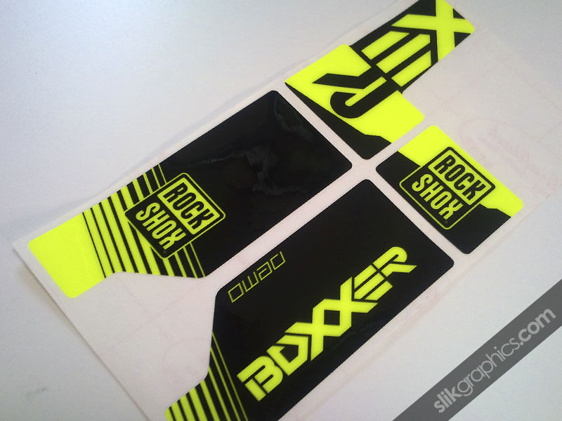 Specialized Demo Boxxer Decals Slik Graphics