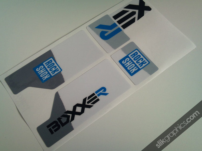Rockshox Boxxer 2010 Style Decals - product images  of