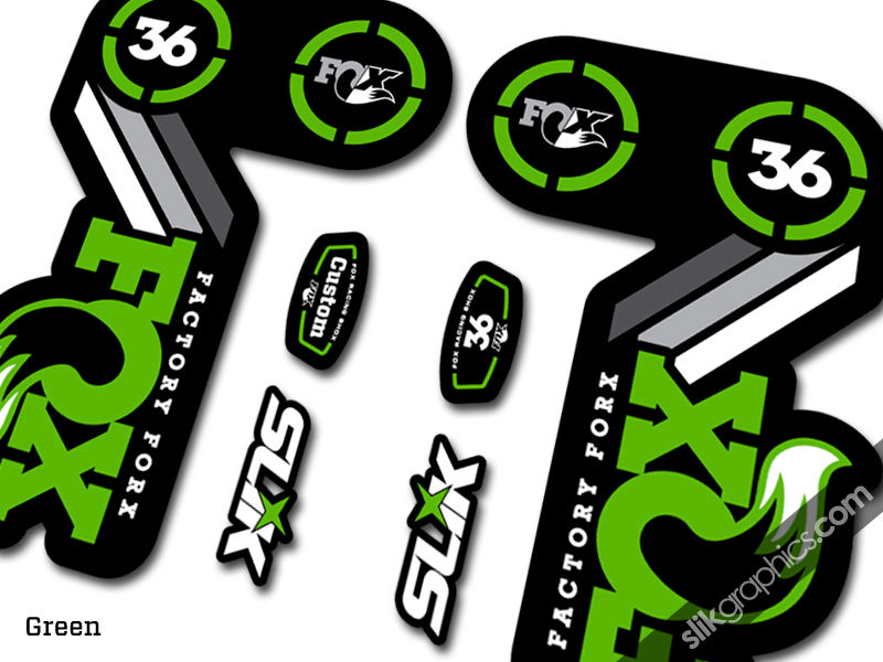 Fox 36 Heritage Style Decal Kit