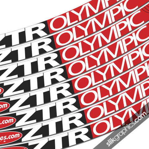 NoTubes,ZTR,Olympic,Style,Rim,Decals, ZTR, Olympic, rim decals, stickers