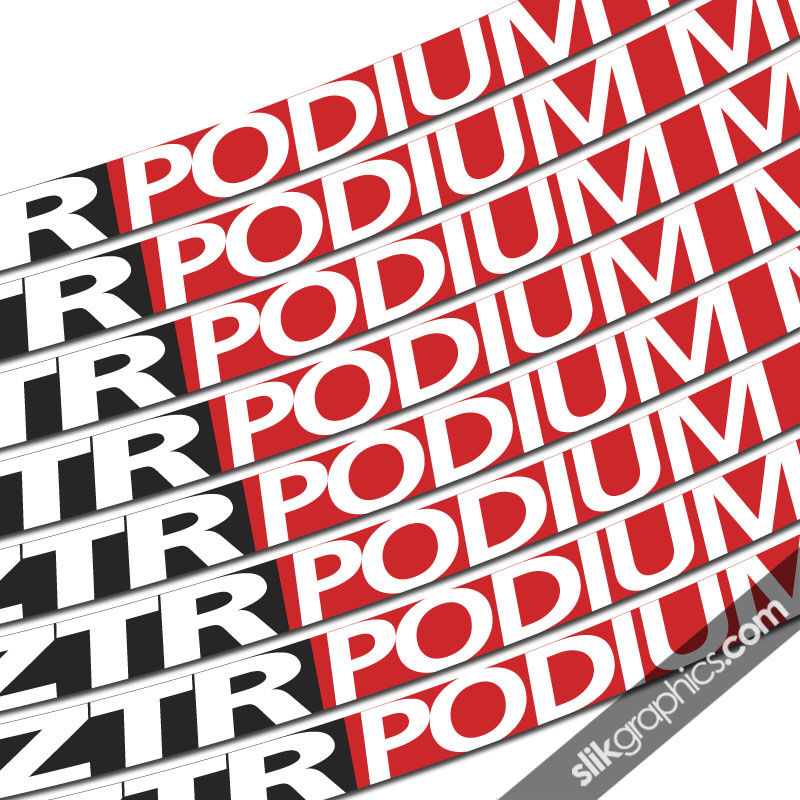 NoTubes ZTR Podium Style Rim Decals - product images  of
