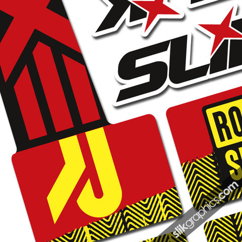 RockShox,Boxxer,2010,Style,Decals,Rockshox, Boxxer, forks, decals, stickers, custom boxxer decals