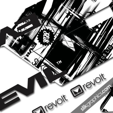 Evil,Revolt,Decal,Kit,-,Transparent, Revolt, Decals, Frame, Graphics kit, stickers