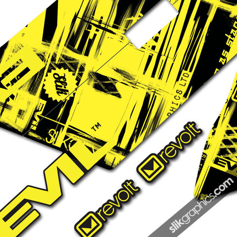 Evil,Revolt,Decal,Kit,-,Solid,colour, Revolt, Decals, Frame, Graphics