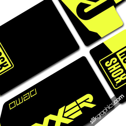 Specialized,Demo,Boxxer,Decals, Demo, Boxxer, fork Decals, stickers