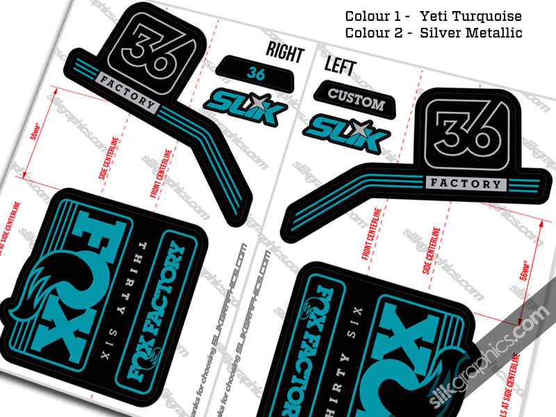 Custom Fox 36 Decals