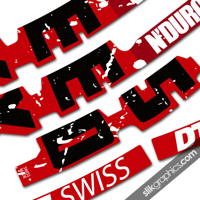 DT Swiss EX1750 Style Decal Kit - product images  of