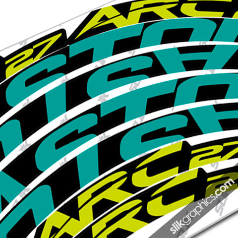 Easton,ARC,27,Style,Rim,Decals, ARC, ARC 27, Stickers, rim decals