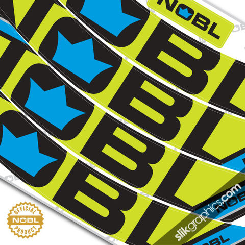 NOBL,custom,rim,decals,-,TWO,colour, NOBL Wheels, NOBL Rims