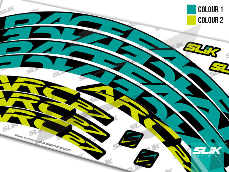 RaceFace ARC 27 Style Rim Decals - product images  of
