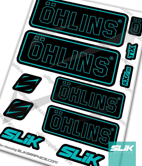 Ohlins RXF 36 Style Decal Kit - product images  of