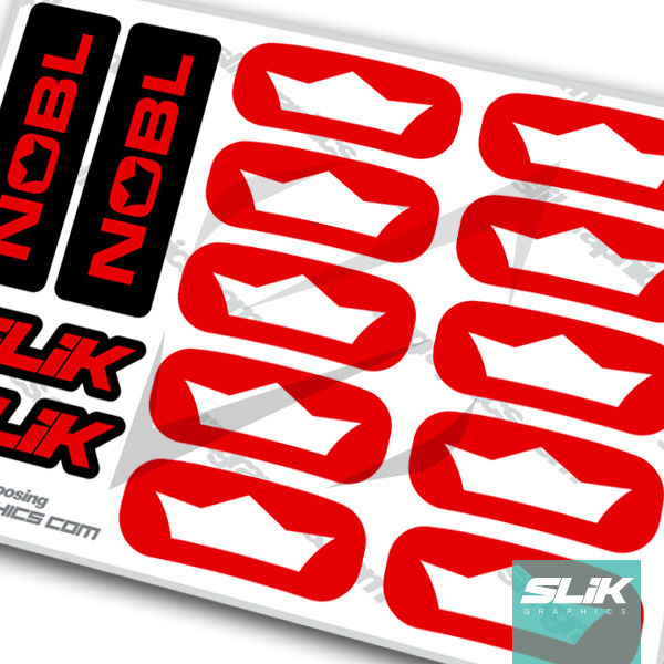 NOBL TR33 2017 Decal Kit - product images  of