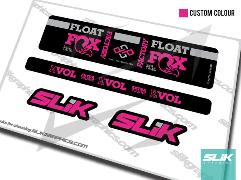 Select Color Fox FLOAT-DPS Rear-Shock Decal