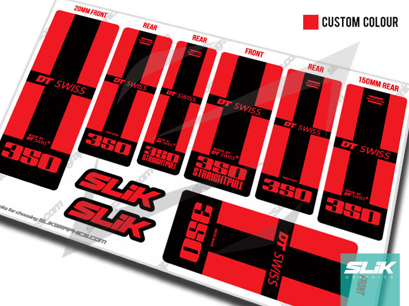 DT Swiss 240 hub Replacement Decal Fits Boost DT 240 hubs MTB Hub