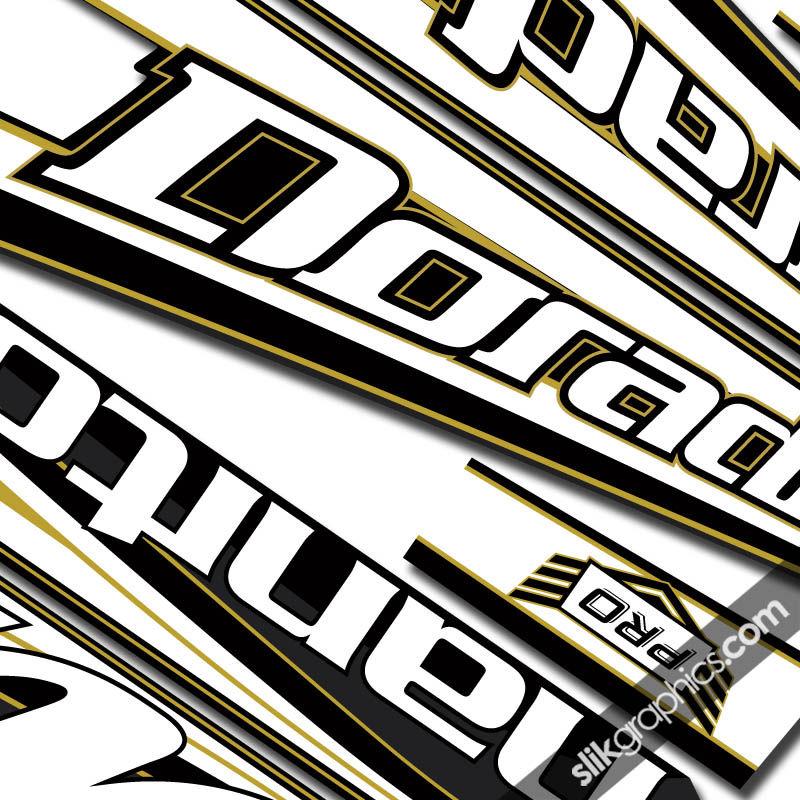 Manitou Dorado decal 13 custom colors