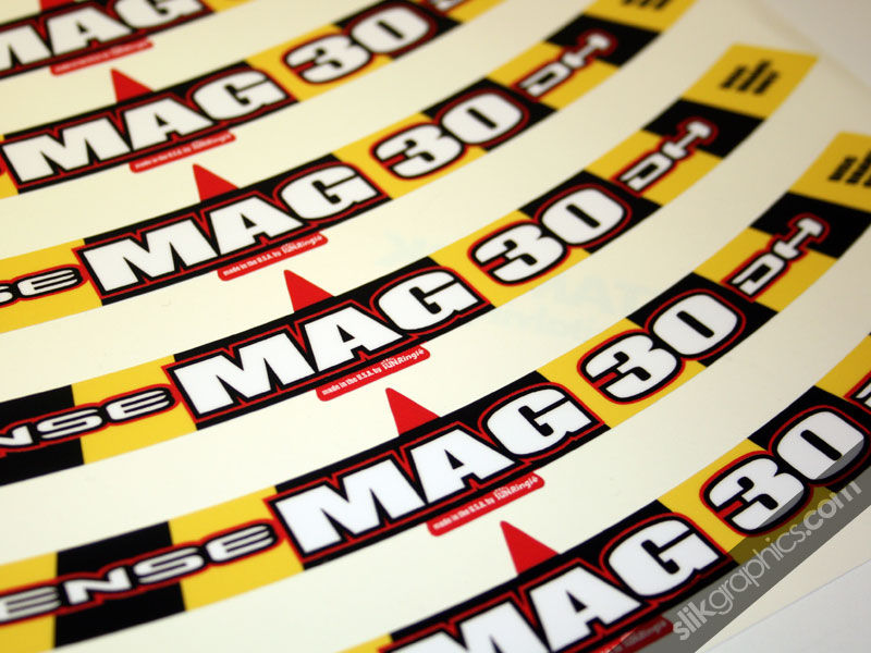 Intense Mag 30 DH Style Rim Decals - product images  of
