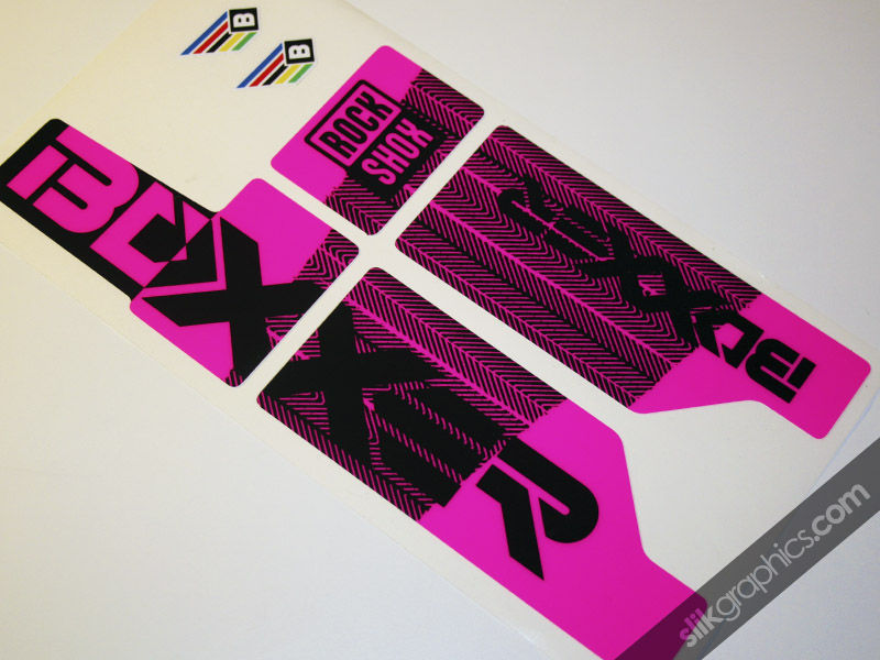 2012 Factory Neon Boxxer Decals - product images  of