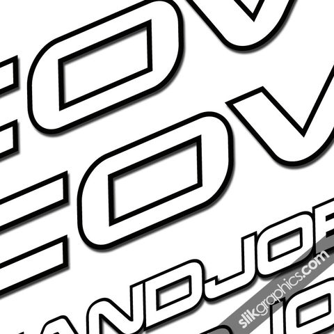 Cove,Handjob,Decal,Kit, Handjob, Decals, Stickers