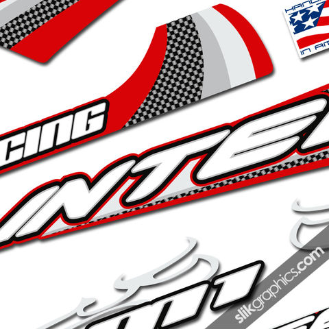 Intense,M1,Style,Decal,Kit, M1, decals, stickers, retro, frame