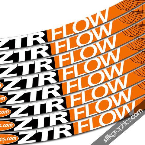 NoTubes,ZTR,Flow,Style,Rim,Decals, ZTR, Flow, rim decals, stickers