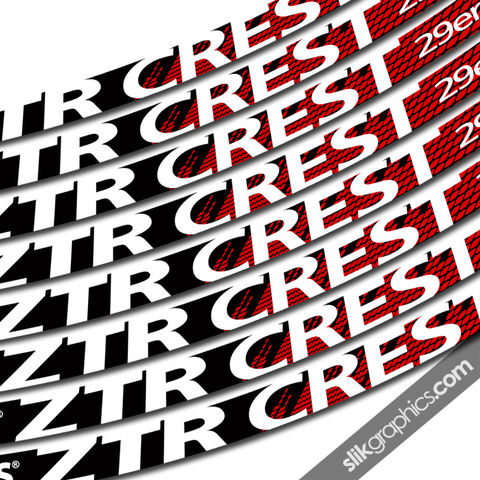 NoTubes,ZTR,Crest,29er,New,Style,Rim,Decals, ZTR, Crest, 29er, rim decals, stickers