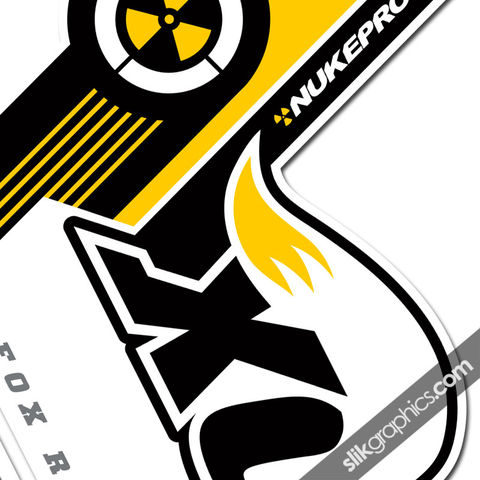 Nukeproof,Edition,Decal,Kit,for,Fox,Forks, fork decals, stickers, Nukeproof