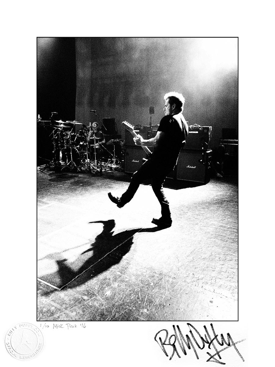 "Signed Photo ""Manchester Soundcheck"" 1/10 - product images  of"