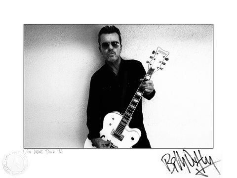 Signed,Photo,The,BD,Falcon,1/10,Billy Duffy Signed Photo The Cult