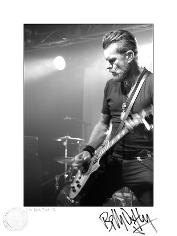 Signed,Photo,Live,in,Liverpool,-,2013,1/10,Billy Duffy Signed Photo The Cult