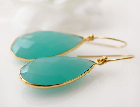 Long,Aqua,Chalcedony,Earrings,,Blue,Green,Dangle,,Gemstone,Drop,24k,Gold,Vermeil,Jewelry,Earrings,Dangle,Drop_Earrings,gold_Vermeil,bygerene,modern_earrings,Aqua_chalcedony,aqua_blue_chalcedony,blue_green_gemstone,aqua_bezel,chalcedony_jewelry,long_aqua_dangle,blue_green_earrings,seafoam,chalcedony_teardrops,24k Gold Vermeil,aqua chal