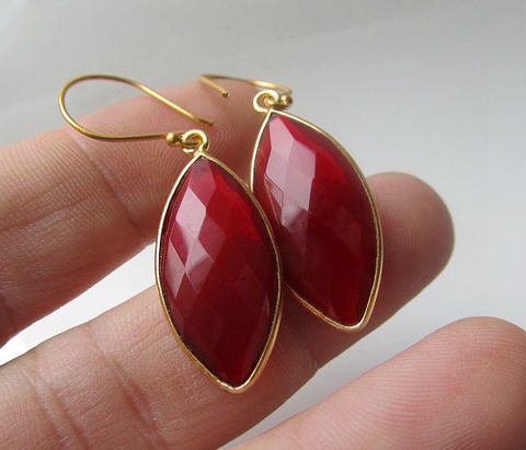 Red,Quartz,Marquise,Drop,Earrings,,Cherry,Red,,Bezel,Dangle,,24k,Gold,Vermeil,,Bright,Jewelry,Earrings,Dangle,24k_gold_vermeil,long_diamond_shape,bygerene,red_marquise,red_marquis,red_gemstone,cherry_red,red_teardrop,Red_Bezel_Dangle,Gold_Vermeil,Blood_Red,Red_Quartz_Marquise,Drop_Earrings,24k Gold Vermeil,red quartz