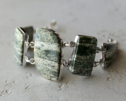 Moss,Agate,Stone,Bracelet,,Green,925,Sterling,Silver,,Jewelry,,Chunky,Bracelet,Jewelry,statement_jewelry,bygerene,925_sterling_silver,chunky_bracelet,gemstone_bracelet,geode,Moss_Agate,Green_Bracelet,Green_Agate_Jewelry,Agate_Stone_Bracelet,large_stone,large_band,multi_green,925 Sterling Silver